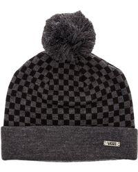 Vans The Checkerboard Pom Pom Beanie - Lyst