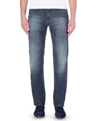 Hugo Boss Alabama Relaxed-Fit Straight Jeans - For Men - Lyst