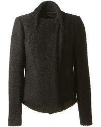 Isabel Marant Black Wool Graysonn Jacket - Lyst