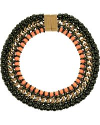 Proenza Schouler - Ladder Gold-Plated Necklace - Lyst