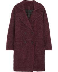 Karl Lagerfeld Hadley Oversized Bouclé Coat - Lyst
