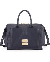 See By Chloé Nellie Leather Satchel Crossbody Bag - Lyst