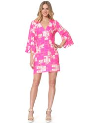 Alice & Trixie Emerson Caftan pink - Lyst