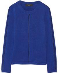 Rag & Bone Briana Wool and Cashmere Blend Sweater - Lyst
