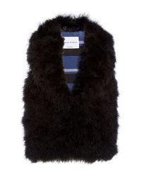 Sonia Rykiel Marabout Fur Vest - Lyst