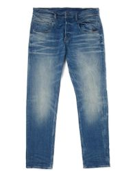 The Idle Man G Star Jeans Radar Tapered Fit Light Aged blue - Lyst