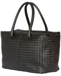 Bottega Veneta Small Brick Woven Nappa Leather Bag - Lyst