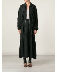 Issey Miyake Skirt And Jacket Set - Lyst