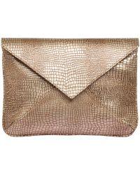 Laura De La Vega An-J Leather Bag - Lyst