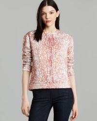 Aiko - Sweatshirt Laetitia Doe Print Fleece - Lyst