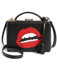 Mark Cross Grace - Lips Small Box Bag - Lyst