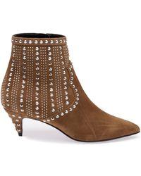 Saint Laurent 'Cat 50' Boots - Lyst