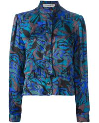 Jean Louis Scherrer Vintage 70S Printed Suit - Lyst