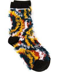 Issey Miyake Stretch Socks - Lyst