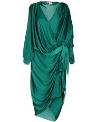 Lanvin Kneelength Dress - Lyst