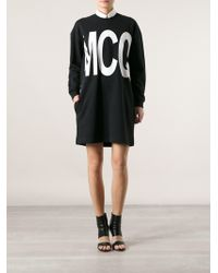 McQ by Alexander McQueen Mcq Sweater Dress - Lyst