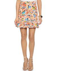 Saloni 'Lou' Skirt multicolor - Lyst