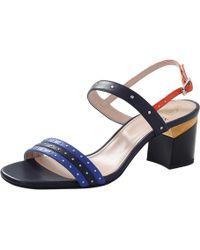 Lanvin | Block Heel Sandal | Lyst
