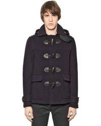 Burberry Brit | Wool Duffle Coat | Lyst