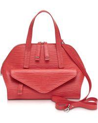 Francesco Biasia - Kenton Medium Leather Satchel Bag - Lyst