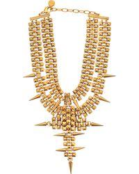 Ela Stone - Marla Plastron Necklace - Lyst