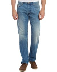 Diesel Waykee 830z Regular Straight Leg Jeans - Lyst