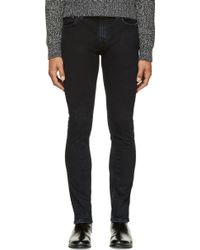Nudie Jeans Blue Organic Smooth Sonic Tube Tom Jeans - Lyst