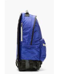 e2299db7c85d Kris Van Assche - Navy Nylon Backpack - Lyst