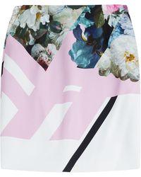Preen Printed Skirt - Lyst