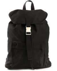 A.P.C. Snap Buckle Backpack - Lyst