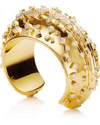 Wilfredo Rosado - 18k Yellow Gold Array Cuff - Lyst