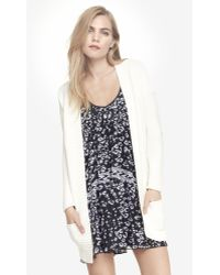 Express Chunky Knit Cover Up - Lyst