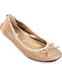 Me Too Lindsey Leather Flats - Lyst