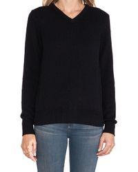 Demylee Morgan V Neck Cashmere Sweater - Lyst