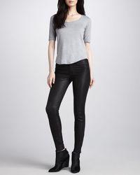 J Brand L8001 Noir Leather Super Skinny Pants - Lyst