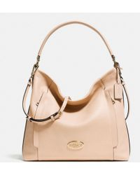 Coach Large Scout Hobo in Pebble Leather - Lyst