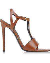 Gianmarco Lorenzi Sandals brown - Lyst