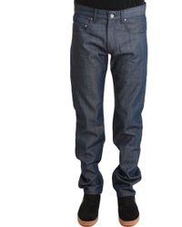 Blue&Cream Tonal Straight Leg Denim Rb blue - Lyst