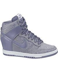 Nike - Sky Hi Purple Texture - Lyst