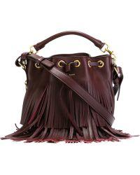 Saint Laurent - Small 'emmanuelle' Bucket Bag - Lyst