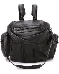 Alexander Wang Marti Backpack With Black Hardware - Black - Lyst