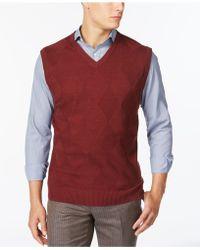 Tricots St Raphael - Diamond Sweater Vest - Lyst