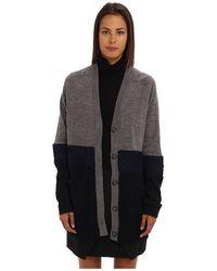 Tibi Mohair Sweaters Oversize Cardigan - Lyst
