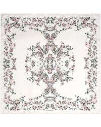 Givenchy | Baby's Breath Floral Print Silk Scarf | Lyst