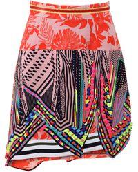 Preen Aret Beaded Skirt multicolor - Lyst