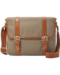 Fossil Estate East-West City Messenger Bag - Lyst