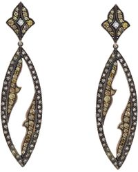Sevan Biçakci | Yellow & White Diamond Drop Earrings | Lyst