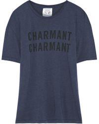 Clare V. - Wear Lacma Charmant Printed Jersey Tshirt - Lyst