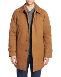 Pendleton - Water Resistant Long Coat With Removable Vest Liner - Lyst