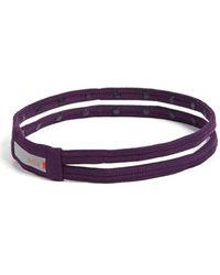 Zella - 'double The Fun' Headband - Purple - Lyst